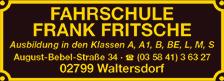 Fahrschule Frank Fritsche